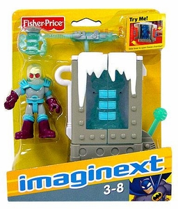 Imaginext DC Super Friends Figure Mr. Freeze with Chamber