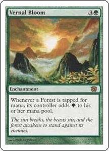 Magic the Gathering Eighth Edition Single Card Rare #286 Vernal Bloom
