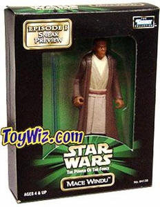 Star Wars POTF2 Power Of The Force Episode I Sneak Preview Mail- Away Mace Windu