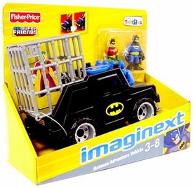 Imaginext DC Super Friends Exclusive Batman Adventure ATV Vehicle [Includes Batman & Robin Figures]