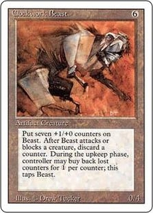Magic the Gathering Revised Edition Single Card Rare Clockwork Beast