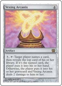 Magic the Gathering Eighth Edition Single Card Rare #319 Vexing Arcanix