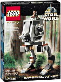 LEGO Star Wars Set #7127 Imperial AT-ST