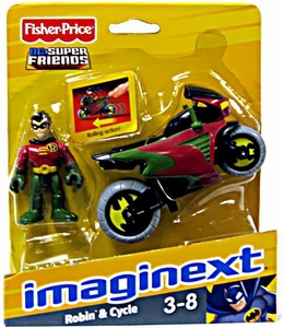 Imaginext DC Super Friends Robin & Cycle