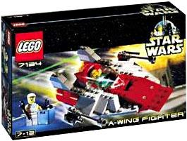 LEGO Star Wars Set #7134 A-Wing Fighter