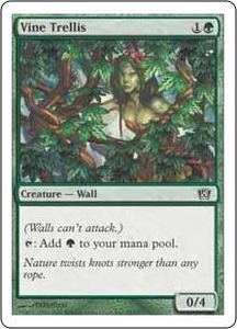 Magic the Gathering Eighth Edition Single Card Common #287 Vine Trellis