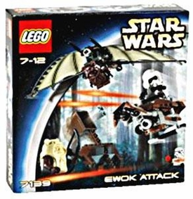 LEGO Star Wars Set #7139 Ewok Attack