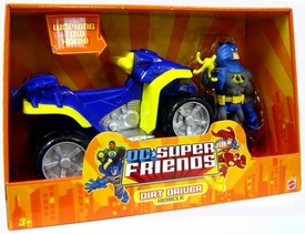 DC Super Friends Action Figure & Vehicle Batman with Dirt Driver