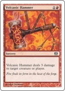 Magic the Gathering Eighth Edition Single Card Common #231 Volcanic Hammer