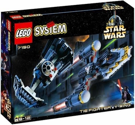 LEGO Star Wars Set #7150 TIE Fighter & Y-Wing