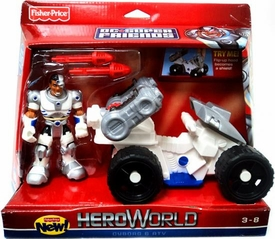 DC Super Friends Hero World Action Figure & Vehicle Cyborg & ATV