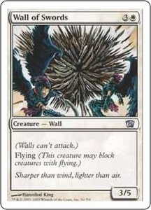 Magic the Gathering Eighth Edition Single Card Uncommon #56 Wall of Swords