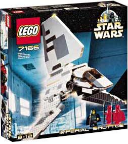 LEGO Star Wars Set #7166 Imperial Shuttle