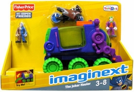 Imaginext DC Super Friends Exclusive Vehicle The Joker Hauler