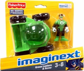 Imaginext DC Super Friends Exclusive Vehicle & Figure Green Lantern & Rover