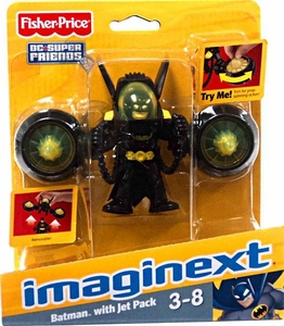 Imaginext DC Super Friends Batman with Jet Pack