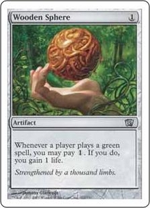 Magic the Gathering Eighth Edition Single Card Uncommon #321 Wooden Sphere