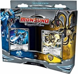 Monsuno Topps Trading Card Game 2-Player Starter Deck Core-Tech VS. S.T.O.R.M. BLOWOUT SALE!