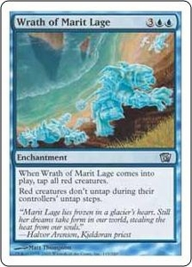 Magic the Gathering Eighth Edition Single Card Uncommon #115 Wrath of Marit Lage
