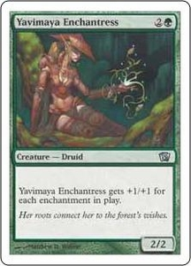 Magic the Gathering Eighth Edition Single Card Uncommon #290 Yavimaya Enchantress