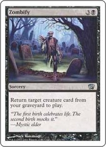 Magic the Gathering Eighth Edition Single Card Uncommon #174 Zombify