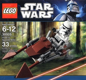 LEGO Star Wars Exclusive Set #30005 Imperial Speeder Bike [Bagged]