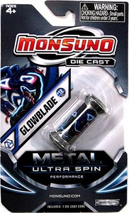 Monsuno Die Cast Metal Ultra Spin Core #12 Glowblade {Core-Tech}