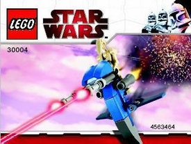 LEGO Star Wars Exclusive Set #30004 Battle Droid on STAP [Bagged]