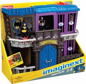 Imaginext DC Super Friends Gotham City Jail Playset [Includes Bane & Batman!]