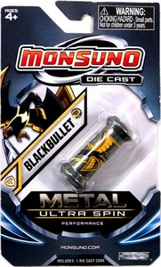Monsuno Die Cast Metal Ultra Spin Core #05 Blackbullet {S.T.O.R.M.} BLOWOUT SALE!