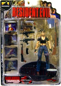 Palisades Resident Evil Series 2 Action Figure Claire Redfield {Bloody Version} [Resident Evil Code: Veronica]