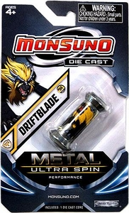 Monsuno Die Cast Metal Ultra Spin Core #04 Driftblade {S.T.O.R.M.} BLOWOUT SALE!