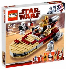 LEGO Star Wars Exclusive Set #8092 Luke's Landspeeder