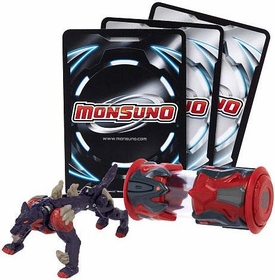 Monsuno Single Pack #06 Backslash {Eklipse} [1 Figure, 1 Core & 3 Cards]