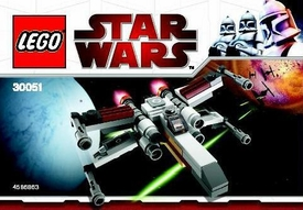 LEGO Star Wars Exclusive Set #30051 X-Wing Starfighter [Bagged]