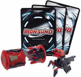 Monsuno Single Pack #08 Spikelash {Eklipse} [1 Figure, 1 Core & 3 Cards]