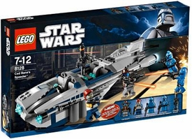 LEGO Star Wars Exclusive Set #8128 Cad Bane's Speeder