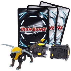 Monsuno Single Pack #04 Driftblade {S.T.O.R.M.} [1 Figure, 1 Core & 3 Cards]