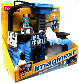 Imaginext DC Super Friends Mr. Freeze Headquarters Playset