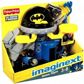 Imaginext DC Super Friends Playset Batcave Command Center