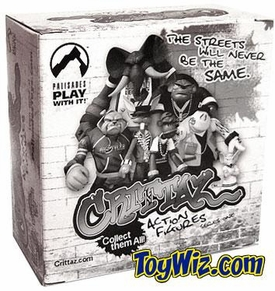 Palisades Toys Urban Action Figures Crittaz The Dizzle Wizard World VIP Party BLOWOUT SALE!