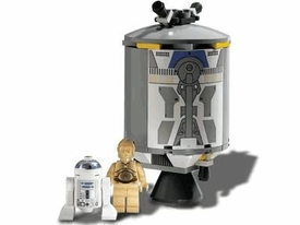 LEGO Star Wars LOOSE Complete Set #7106 Droid Escape with R2-D2 & C-3PO No Box!