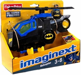 Imaginext DC Super Friends Batcopter [with Batman Figure]