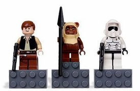 LEGO Star Wars Magnets Set #4585396 Han Solo, Paploo & Scout Trooper
