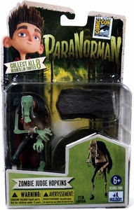 ParaNorman 2012 SDCC Comic Con Exclusive 4 Inch Figurine Zombie Judge Hopkins