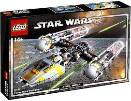 LEGO Star Wars Set #10134 Y-Wing Attack Starfighter Damaged Package!