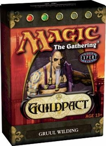 Magic the Gathering Guildpact Theme Deck Gruul Wilding