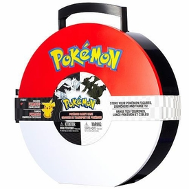 Pokemon Tin Poke Ball Carry Case [Includes Pikachu Figure!]