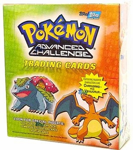 Topps Pokemon Advanced Challenge Trading Card Box [24 Packs]