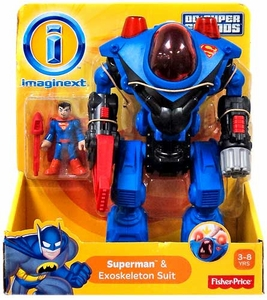 Imaginext DC Super Friends Exclusive Superman & Exoskeleton Suit